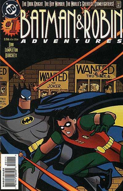 batman robin adventures covers dc database fandom. Black Bedroom Furniture Sets. Home Design Ideas