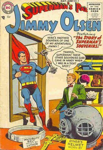 File:Jimmy Olsen Vol 1 5.jpg