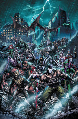 Forever Evil Arkham War Vol 1 1 Textless