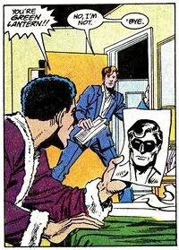Green Lantern secret identity