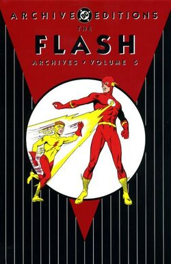 Cover for the The Flash Archives Vol. 5 Trade Paperback
