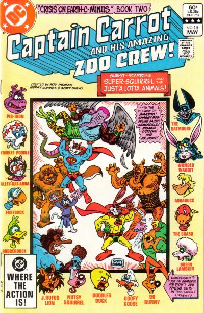 Captain Carrot And His Amazing Zoo Crew Vol 1 15 Dc