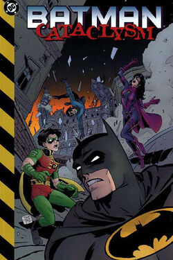 Cover for the Batman: Cataclysm Trade Paperback