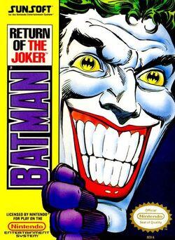 Batman ROTJ NES Game Box