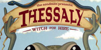 Thessaly: Witch for Hire/Covers