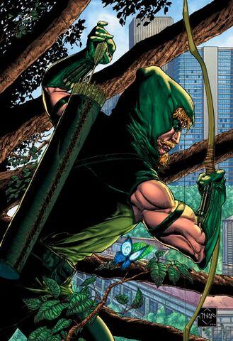 File:Green Arrow Vol 4 1 Textless Variant.jpg