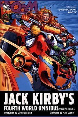 Cover for the Jack Kirby's Fourth World Omnibus Vol. 3 Trade Paperback