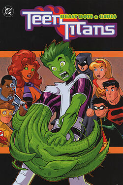 Cover for the Teen Titans: Beast Boys & Girls Trade Paperback
