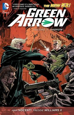 Cover for the Green Arrow: Harrow Trade Paperback