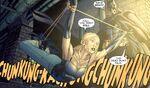 Batman interrogates Alex Kosov