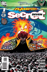 Flashpoint Secret Seven Vol 1 1
