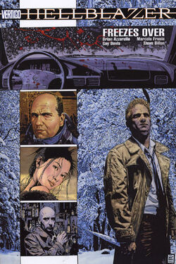 Cover for the Hellblazer: Freezes Over Trade Paperback