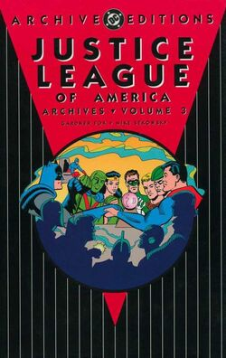 Cover for the Justice League of America Archives Vol 3 Trade Paperback