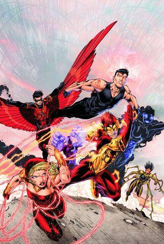 File:Teen Titans Vol 4 1 Textless.jpg