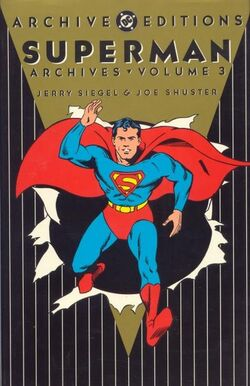 Cover for the The Superman Archives Vol. 3 Trade Paperback