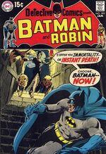 Detective Comics #395 starts the Bronze Age