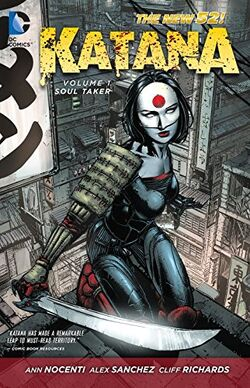 Cover for the Katana: Soultaker Trade Paperback