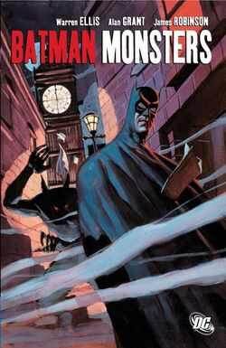Cover for the Batman: Monsters Trade Paperback