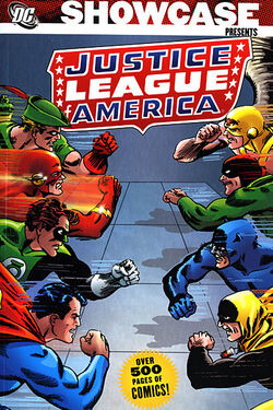 Cover for the Showcase Presents: Justice League of America Vol. 3 Trade Paperback