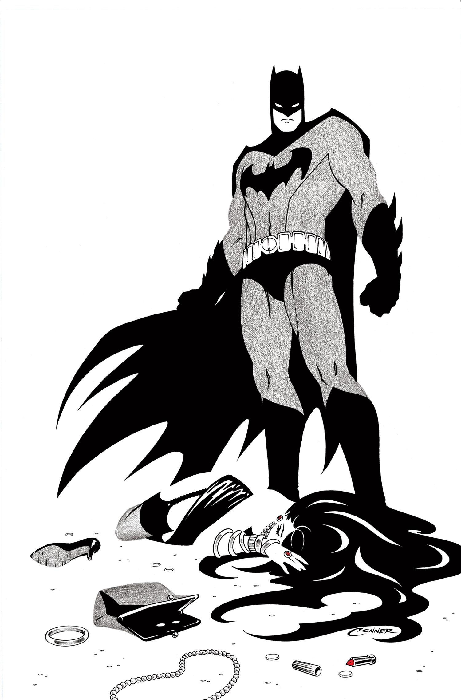 batman black white Explore Marcus Gear Magician's board