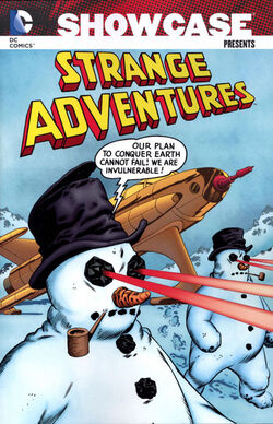 Cover for the Showcase Presents: Strange Adventures Vol. 2 Trade Paperback
