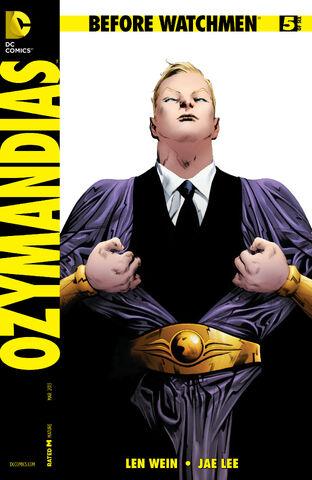 File:Before Watchmen Ozymandias Vol 1 5 Combo.jpg