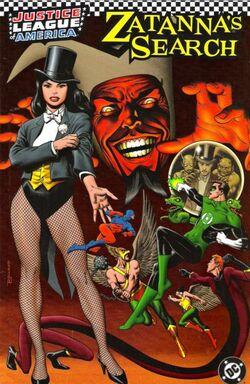 Cover for the JLA: Zatanna's Search Trade Paperback