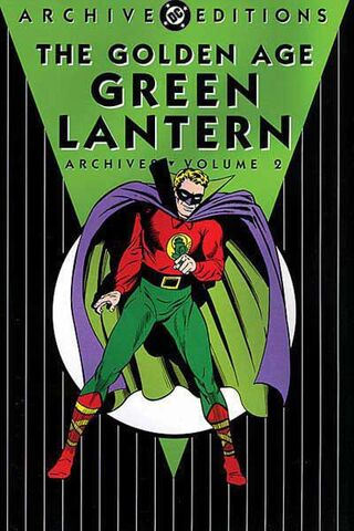 File:Golden Age Green Lantern Archives, Volume 2.jpg