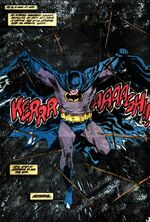 Batman strikes
