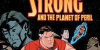 Tom Strong and the Planet of Peril/Covers