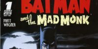 Batman and the Mad Monk/Covers