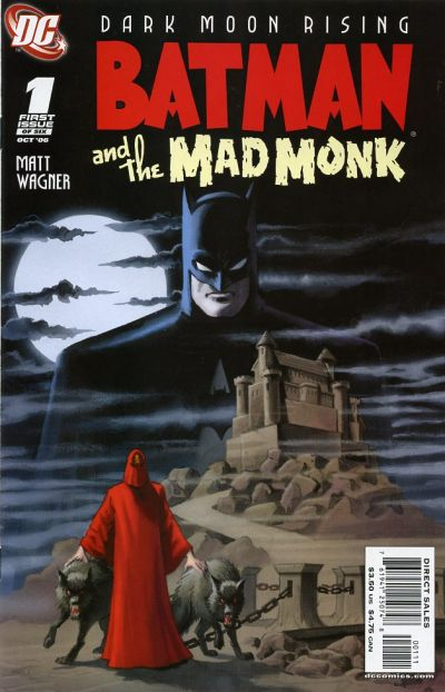 batman and the mad monk vol 1 dc database fandom