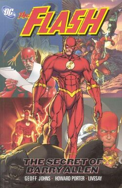 Cover for the The Flash: The Secret of Barry Allen Trade Paperback