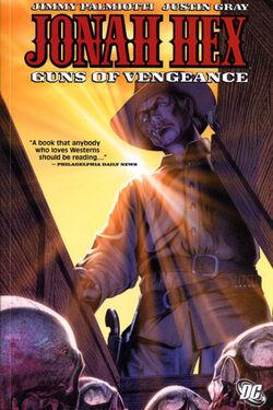 Cover for the Jonah Hex: Guns of Vengeance Trade Paperback