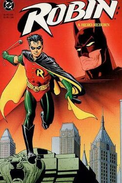 Cover for the Robin: A Hero Reborn Trade Paperback