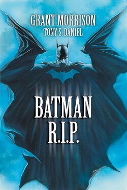 Cover for the Batman R.I.P. Trade Paperback