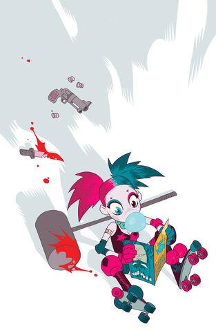 File:Harley Quinn Vol 2 18 Textless Teen Titans Go! Variant.jpg