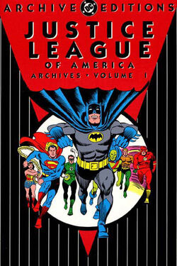 Cover for the Justice League of America Archives Vol 1 Trade Paperback
