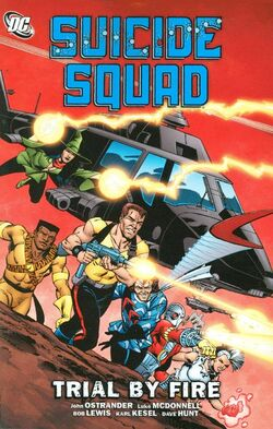 Cover for the Suicide Squad: Trial by Fire Trade Paperback
