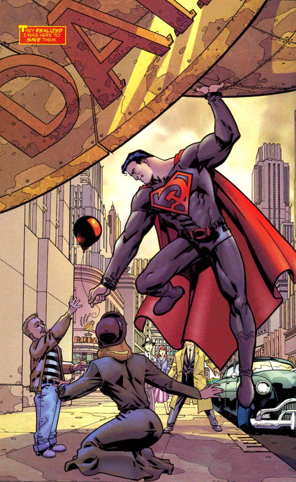 Kal-L (Earth-30)   DC Database   FANDOM powered by Wikia Red Son Justice League