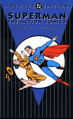 Cover for the Superman: The Action Comics Archives Vol. 2 Trade Paperback