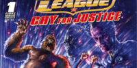 Justice League: Cry for Justice/Covers