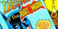 Untold Legend of the Batman/Covers