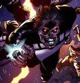 Black Lantern Deacon Blackfire 001