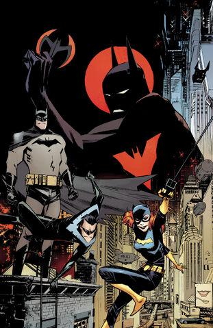 File:Batman Beyond Universe Vol 1 1 Textless.jpg