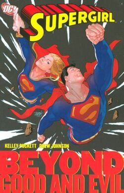 Cover for the Supergirl: Beyond Good and Evil Trade Paperback