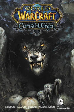 Cover for the World of Warcraft: Curse of the Worgen Trade Paperback