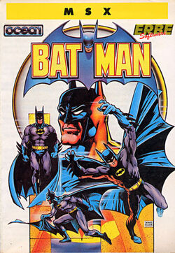 Batman 1986 Game Box