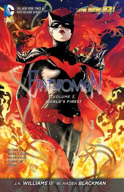 Cover for the Batwoman: World's Finest Trade Paperback
