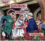 Marriage of Green Lantern and Kari Limbo